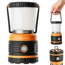 2716118-dunlop Camping Leuchte Lampada da Campeggio Nero