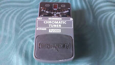 Behringer TU300 Chromatic Tuner Effect Pedal -->Superb accurate budget tuner<--