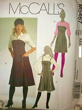 Miss McCalls 5467 Sewing Pattern Jumpers UNCUT FF Size 4-6-8-10