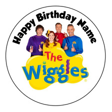 The Wiggles Personalised Edible Birthday Party Cake Decoration Topper Image