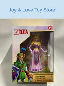 The Legend of Zelda Figure Princess Zelda With Ocarina 01 Jakks Pacific 2021 NIB