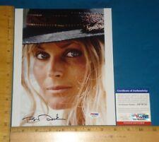 PSA DNA Certified Authentic Bo Derek signed/autographed 8x10 Color Photo