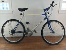 Classic early nineties Gary Fisher Montare mountain bike in blue and white