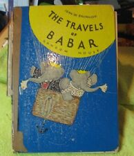 The Travels of Babar Hardcover 1934 Translated from French