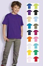 Magliette e maglie per bambini dai 2 ai 16 anni girocollo 2 anni , Materiale 100 % Cotone