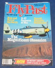 FLYPAST MAGAZINE MAY 1987 - THE MAGNIFICENT OBSESSION