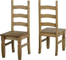 Pine Traditional Kitchen Chairs 2 Pieces