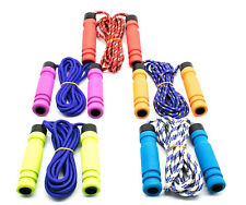 Soft Handle Skipping Speed Rope Fitness Exercise  Boxing Jumping Gym 3 Colors