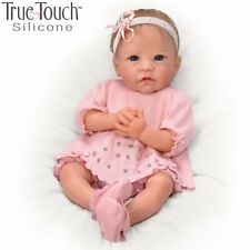 """Linda Murray """"Claire"""" Silicone Baby Girl Doll True Touch Ashton Drake NEW Gift"""