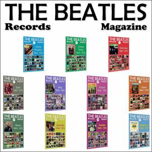 11 x The Beatles Records Magazine - United Kingdom, United States, Spain, Japan