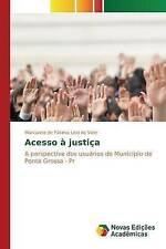 NEW Acesso à justiça (Portuguese Edition) by Leal do Valle Marcialina de Fátima