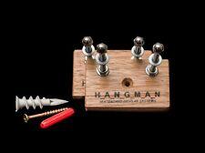 2 x Tasmanian Oak Hangman Skateboard Display Systems, Deck Wall Mount Hanger