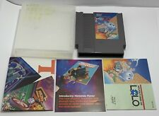 Adventures of Lolo (Nintendo NES, 1989) w/ Manual CLEANED and TESTED Authentic
