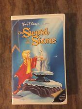 Rare Walt Disney Black Diamond Classic The Sword In The Stone VHS 229 Tested