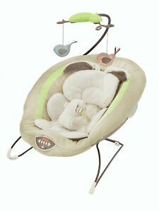 Fisher-Price My Little Snugabunny Deluxe Bouncer with Music