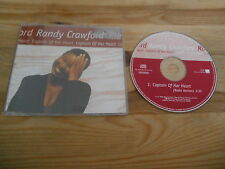 CD POP Randy Crawford-capitano of her heart (1) canzone PROMO WEA Rec SC