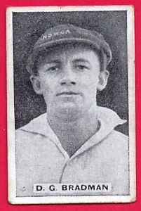 "1932 Sweetacres ""Test Match Records"" Confectionary Card: DON BRADMAN  #15"
