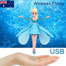 Frozen Princess Flying Fairy Magic Infrared Induction Control Toy Xmas Gift