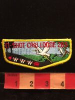 Vtg O-SHOT CAW LODGE 265 Order Of The Arrow Boy Scouts Patch C87O