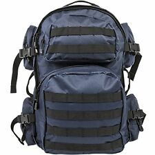 NcSTAR VISM Tactical Hiking Camping Day pack Backpack MOLLE Webbing Blue CBL2911