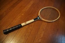 "used vintage Franklin Court Ace wooden tennis racket, 4 1/4"" grip"