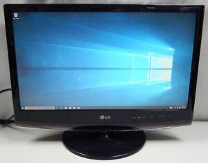 "LG Flatron M2262D-PM / M2262DL 22"" HD LCD TV Monitor VGA DVI HDMI S-Video"