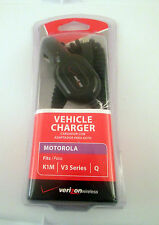 Motorola K1M V3 Series Vehicle Charger NEW Verizon Wireless