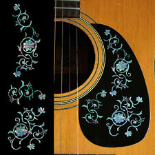 Oriental Flowers SET-MX Takamine PXM-1 Inlay Sticker Decal Guitar Pickguard