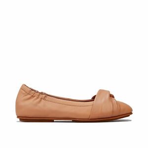 Womens Fitflop Twiss Ballerina Shoes In Blush