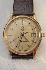 Original Goldfarbene Omega Seamaster HAU Swiss Made