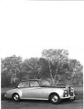 ROLLS ROYCE SILVER CLOUD III LWB SALOON ORIGINAL PRESS PHOTO 'brochure related'
