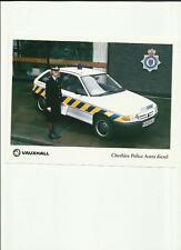 VAUXHALL POLICE ASTRA DIESEL 'K' REG PRESS PHOTO BROCHURE RELATED