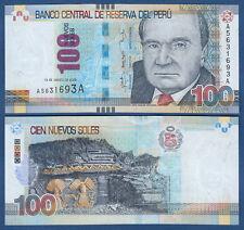 Perú 100 sind soles 2009 UNC p.185