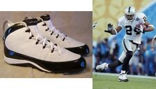 NFL Nike cleats Jordan 9 IX Charles Woodson Size 43 9.5 Black Football Americain