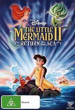 THE LITTLE MERMAID II / 2 - RETURN TO THE SEA - BRAND NEW & SEALED DVD (DISNEY)