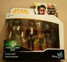 Pack 2 Star wars Force Link 2.0 Kessel Guard+Lando Calrissian..