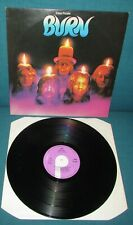 DEEP PURPLE Burn ORIGINAL 1st UK PURPLE 1974