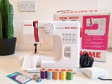 Janome Sew Mini Compact Lightweight Electric Sewing Machine Boxed
