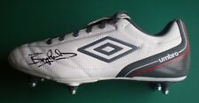 Bryan Robson Signed Football Boot Manchester United & England Legend COA AFTAL