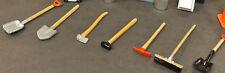 Seven Construction Tools Miniature Diorama Accessories 1:24 Scale