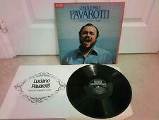 Luciano Pavarotti SXL 6870 Neapolitan Songs Vinyl Lp Album + Libretto Ex