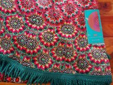 Matthew Williamson Pink Floral Circle Holiday Beach Towel
