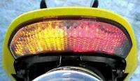 Honda '03-06 CBR 600RR '04-07 1000RR Integrated LED Tail Light CBR600 - Clear