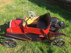 Crue Cut 1960's Model T Shriners Kart