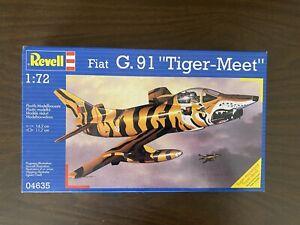 """Revell FIAT G-91R """"TIGER MEET""""  1/72. rare"""