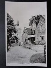 Hertfordshire BARLEY St Margarets Church - Old RP Postcard by Raphael Tuck BL11