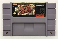 Super Nintendo SNES Secret of Evermore *Authentic/Cleaned/Tested* *Saves*