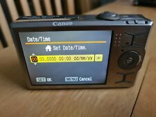 Canon powershot SD790 IS (spares or repair) +CB-2LX Charger USA 2 pin + uk plug