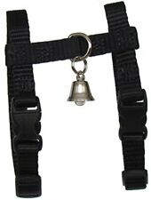 Sandia Pet Products Black Ferret Harness with Bell