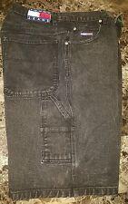 Tommy Hilfiger Jeans CARPENTER Style Logo Utility Loop Denim Shorts Mens 32